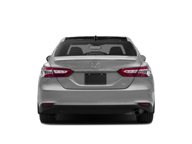 2018 Toyota Camry Prices and Values Sedan 4D XLE I4 rear view