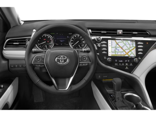 2018 Toyota Camry Prices and Values Sedan 4D XLE I4 driver's dashboard