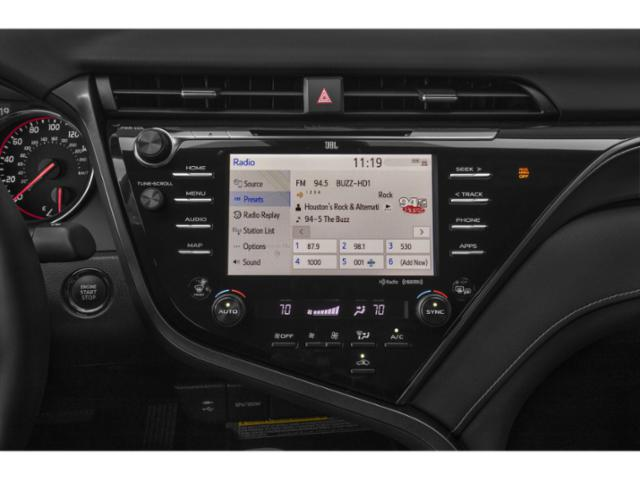 2018 Toyota Camry Prices and Values Sedan 4D XLE I4 stereo system