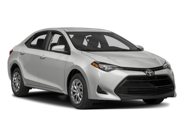 2018 Toyota Corolla Pictures Corolla Sedan 4D LE Eco I4 photos side front view