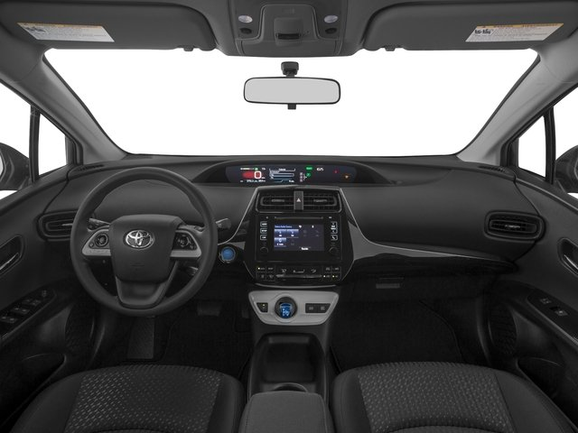 2018 Toyota Prius Prices and Values Liftback 5D Four I4 Hybrid full dashboard