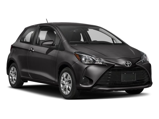 2018 Toyota Yaris Prices and Values Hatchback 3D L I4 side front view