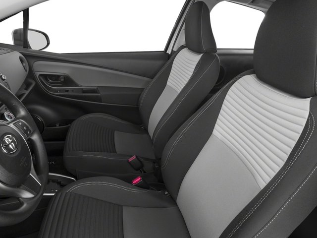 2018 Toyota Yaris Prices and Values Hatchback 3D L I4 front seat interior