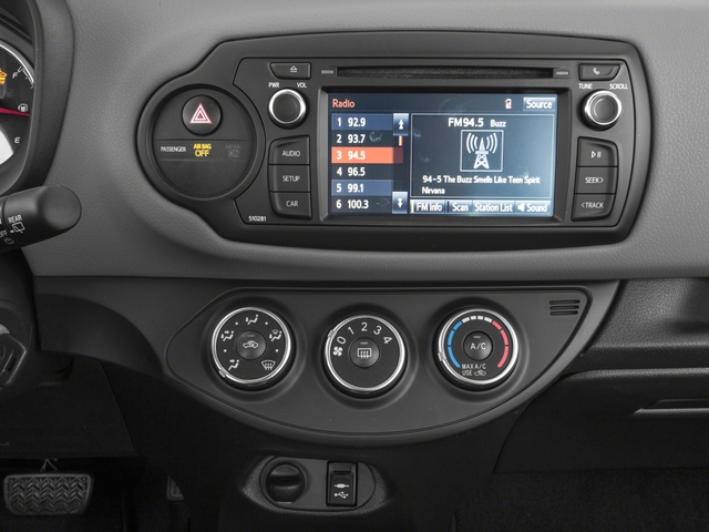 2018 Toyota Yaris Prices and Values Hatchback 3D L I4 stereo system