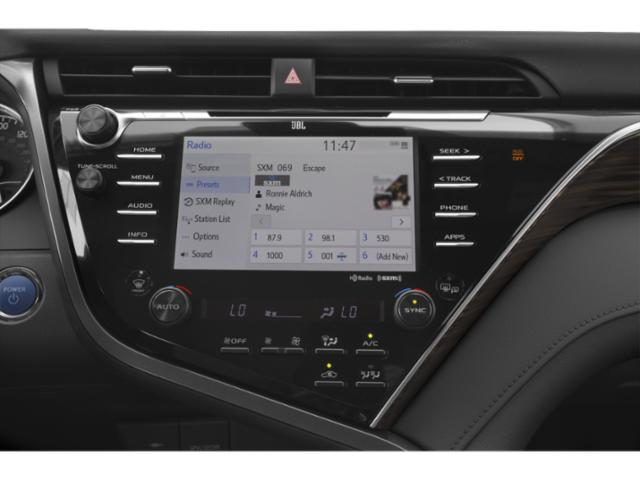 2018 Toyota Camry Prices and Values Sedan 4D XLE I4 Hybrid stereo system
