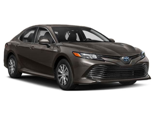 2018 Toyota Camry Prices and Values Sedan 4D XLE I4 Hybrid side front view