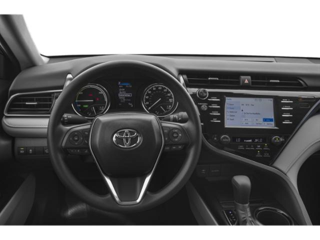 2018 Toyota Camry Prices and Values Sedan 4D XLE I4 Hybrid driver's dashboard