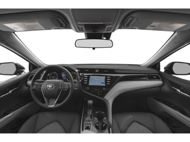 2018 Toyota Camry Prices and Values Sedan 4D XLE I4 Hybrid full dashboard
