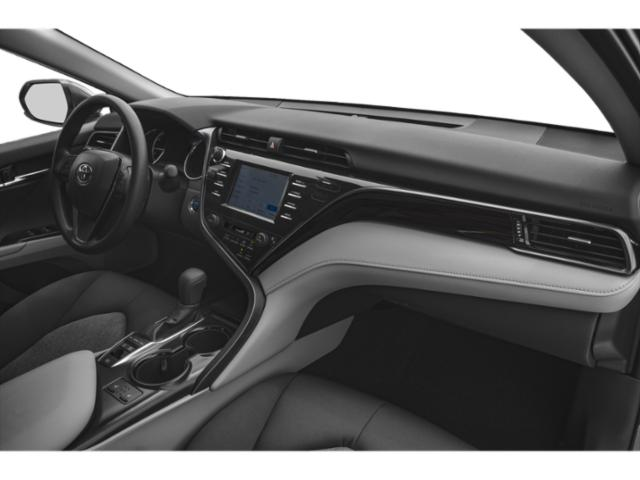 2018 Toyota Camry Prices and Values Sedan 4D XLE I4 Hybrid passenger's dashboard