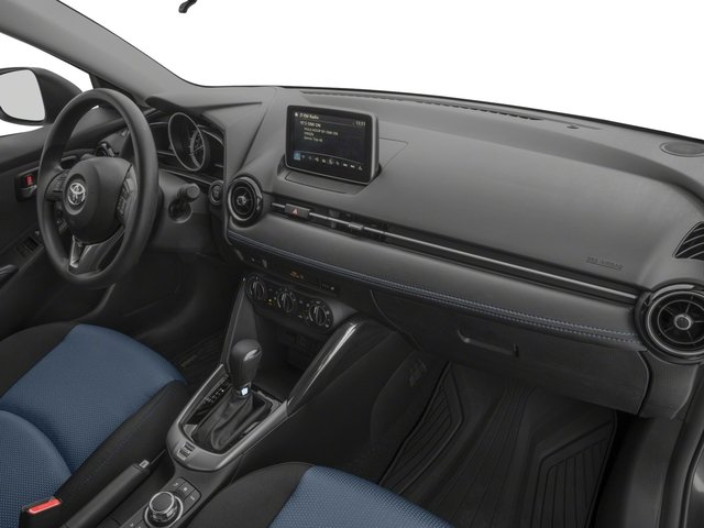 2018 Toyota Yaris iA Prices and Values Sedan 4D I4 passenger's dashboard