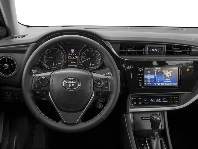 2018 Toyota Corolla iM Prices and Values Hatchback 5D driver's dashboard