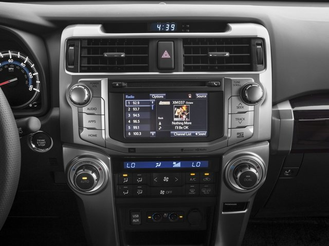 2018 Toyota 4Runner Pictures 4Runner Utility 4D Limited 4WD V6 photos stereo system