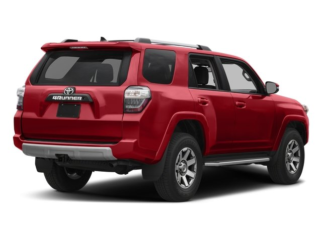 2018 Toyota 4Runner Pictures 4Runner TRD Off Road 4WD photos side rear view