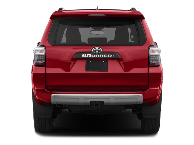 2018 Toyota 4Runner Prices and Values Utility 4D TRD Off-Road 4WD V6 rear view