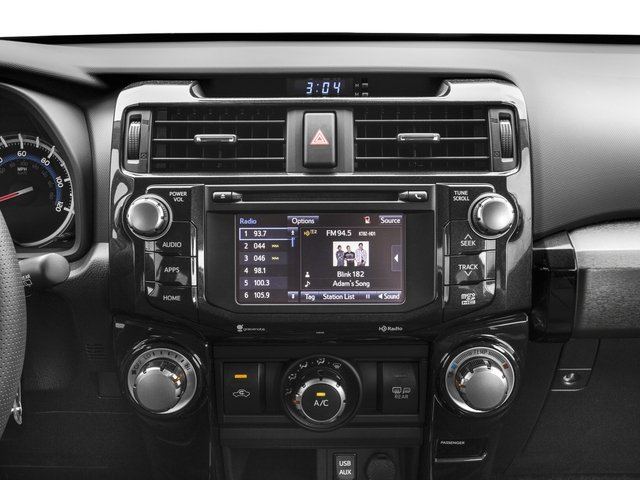 2018 Toyota 4Runner Pictures 4Runner TRD Off Road 4WD photos stereo system