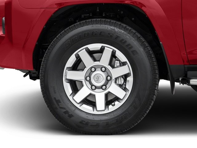 2018 Toyota 4Runner Prices and Values Utility 4D TRD Off-Road 4WD V6 wheel