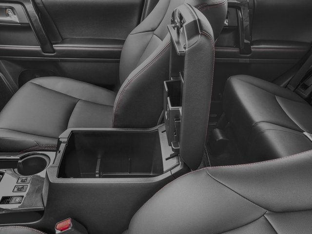 2018 Toyota 4Runner Prices and Values Utility 4D TRD Off-Road 4WD V6 center storage console