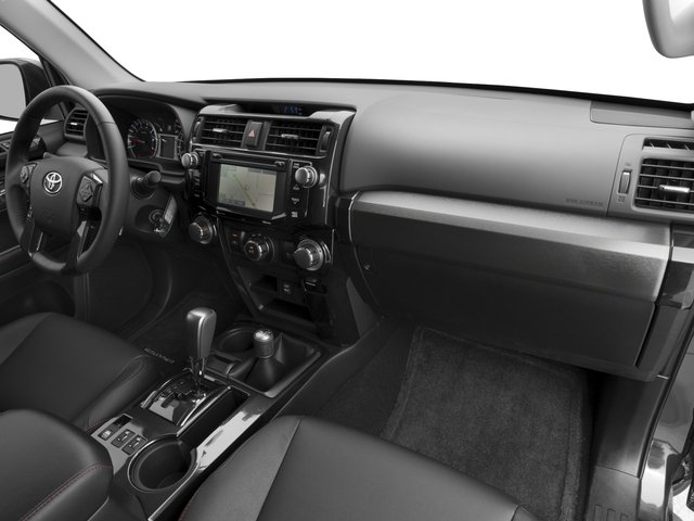 2018 Toyota 4Runner Prices and Values Utility 4D TRD Off-Road 4WD V6 passenger's dashboard