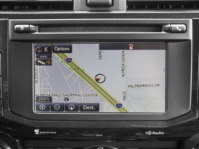 2018 Toyota 4Runner Pictures 4Runner TRD Off Road 4WD photos navigation system
