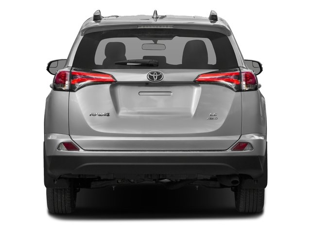 2018 Toyota RAV4 Prices and Values Utility 4D LE 2WD I4 rear view