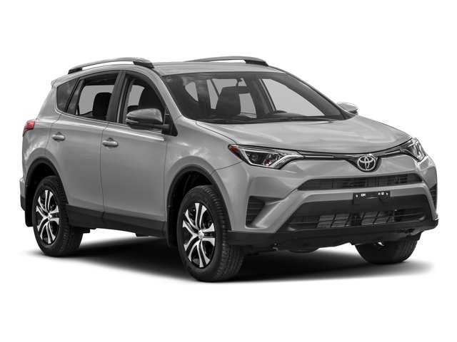 2018 Toyota RAV4 Prices and Values Utility 4D LE 2WD I4 side front view