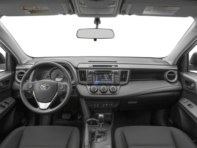2018 Toyota RAV4 Prices and Values Utility 4D LE 2WD I4 full dashboard