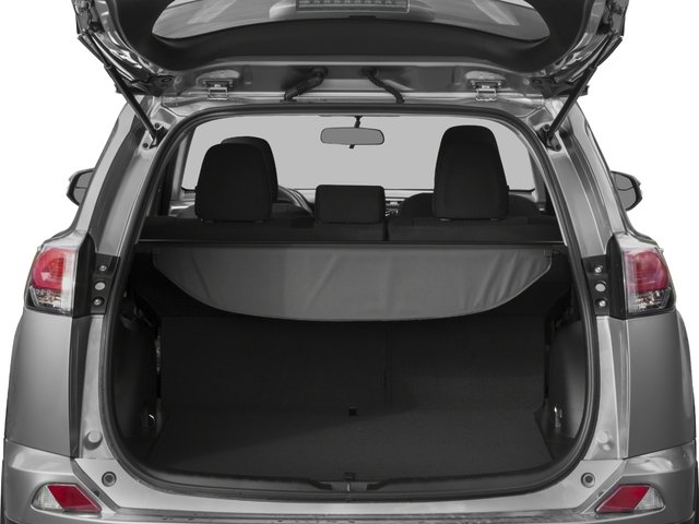 2018 Toyota RAV4 Prices and Values Utility 4D LE 2WD I4 open trunk