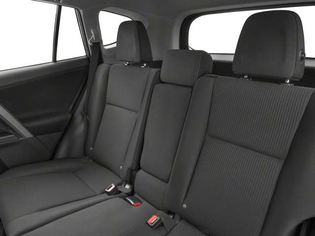 2018 Toyota RAV4 Prices and Values Utility 4D LE 2WD I4 backseat interior