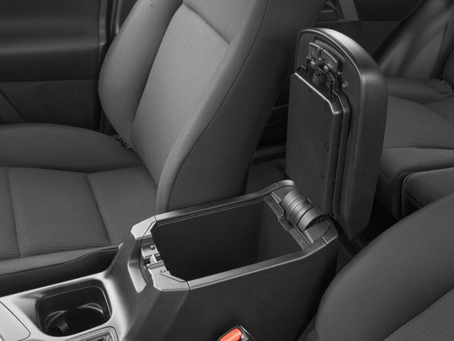 2018 Toyota RAV4 Prices and Values Utility 4D LE 2WD I4 center storage console