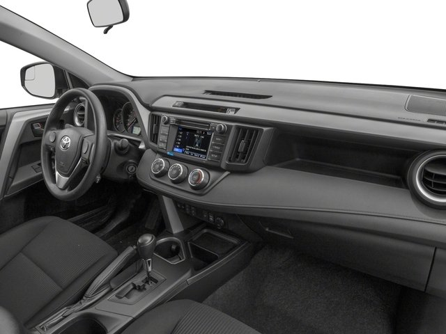 2018 Toyota RAV4 Prices and Values Utility 4D LE 2WD I4 passenger's dashboard