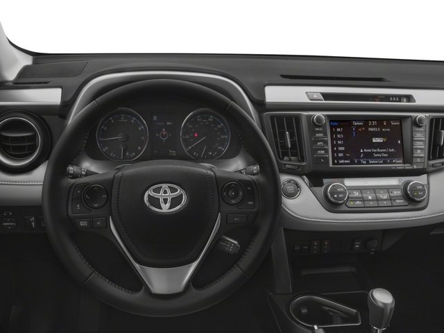 2018 Toyota RAV4 Prices and Values Utility 4D Limited AWD I4 driver's dashboard