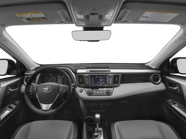 2018 Toyota RAV4 Prices and Values Utility 4D Limited AWD I4 full dashboard