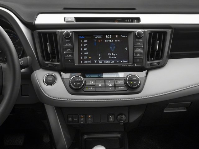2018 Toyota RAV4 Prices and Values Utility 4D Limited AWD I4 stereo system