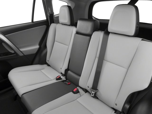 2018 Toyota RAV4 Prices and Values Utility 4D Limited AWD I4 backseat interior