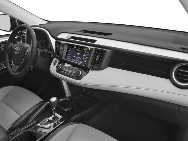 2018 Toyota RAV4 Prices and Values Utility 4D Limited AWD I4 passenger's dashboard