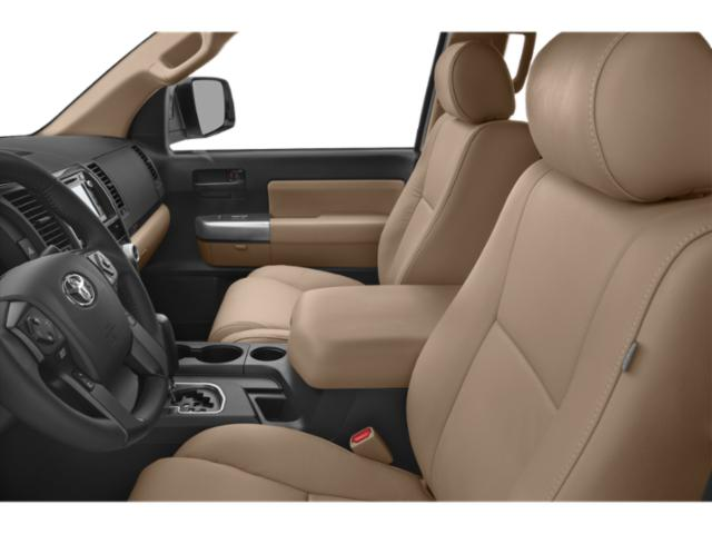 2018 Toyota Sequoia Prices and Values Utility 4D Limited 2WD V8 front seat interior