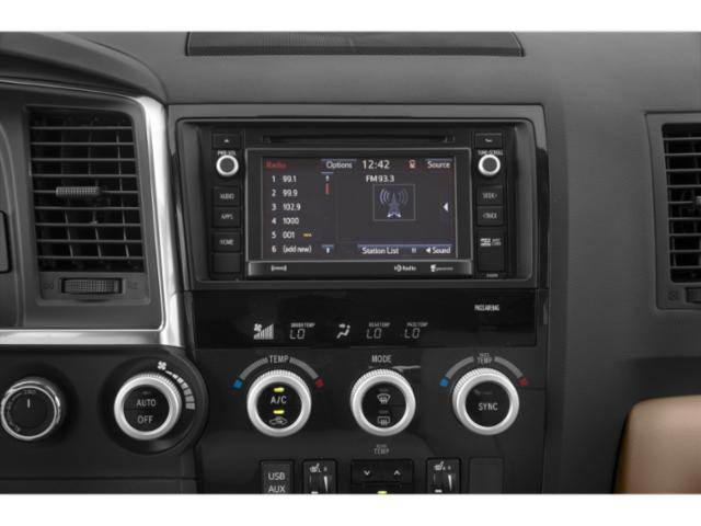 2018 Toyota Sequoia Prices and Values Utility 4D Limited 2WD V8 stereo system