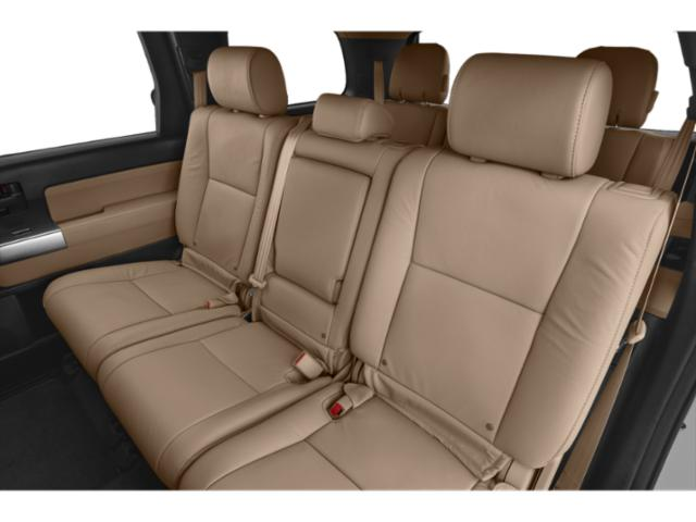 2018 Toyota Sequoia Prices and Values Utility 4D Limited 2WD V8 backseat interior
