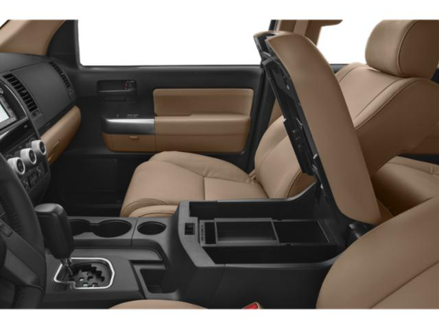 2018 Toyota Sequoia Prices and Values Utility 4D Limited 2WD V8 center storage console