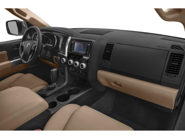 2018 Toyota Sequoia Prices and Values Utility 4D Limited 2WD V8 passenger's dashboard