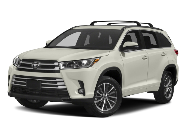 2018 Toyota Highlander Base Price Xle V6 Awd Pricing Side Front View