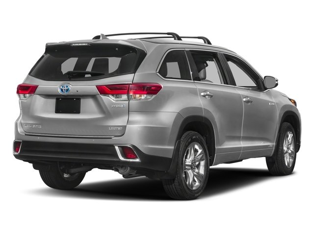 2018 Toyota Highlander Base Price Hybrid Xle V6 Awd Pricing Side Rear View