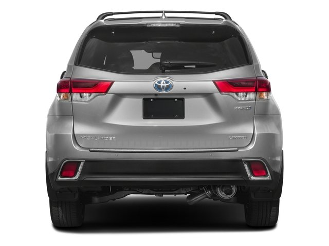 2018 Toyota Highlander Prices and Values Utility 4D LE 4WD V6 Hybrid rear view