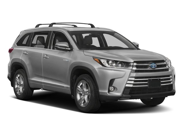 2018 Toyota Highlander Prices and Values Utility 4D LE 4WD V6 Hybrid side front view