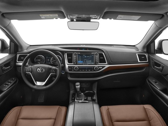 2018 Toyota Highlander Prices and Values Utility 4D LE 4WD V6 Hybrid full dashboard