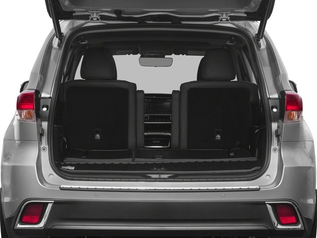 2018 Toyota Highlander Prices and Values Utility 4D LE 4WD V6 Hybrid open trunk