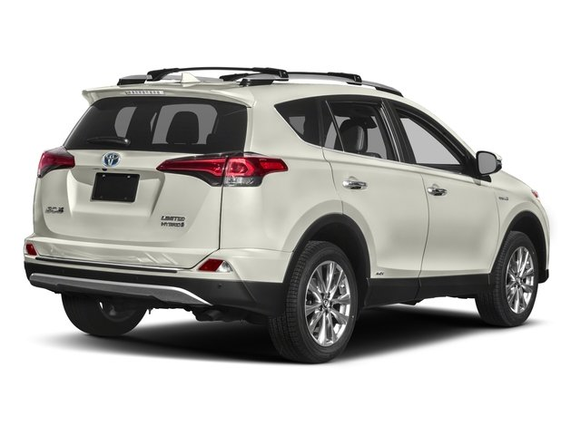 2018 Toyota RAV4 Prices and Values Utility 4D Limited AWD I4 Hybrid side rear view