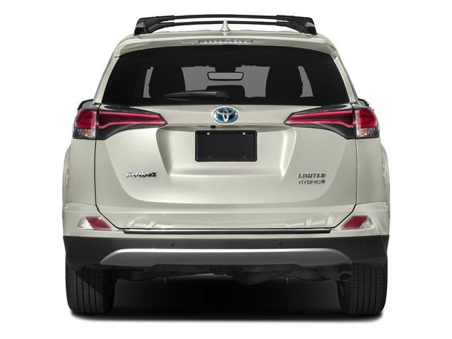 2018 Toyota RAV4 Prices and Values Utility 4D Limited AWD I4 Hybrid rear view