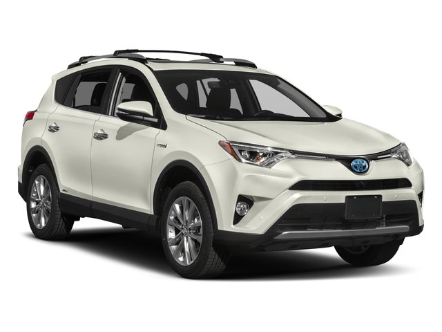 2018 Toyota RAV4 Prices and Values Utility 4D Limited AWD I4 Hybrid side front view