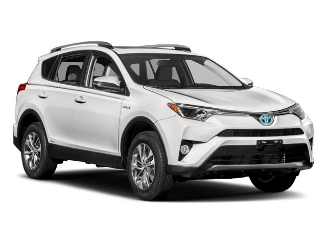 2018 Toyota RAV4 Pictures RAV4 Utility 4D XLE AWD I4 Hybrid photos side front view